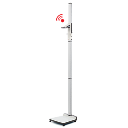 Digital mobile stadiometer with wireless transmission seca 274