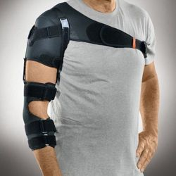 Functional orthosis for stability of shoulder joint by pheripheral paralyses Neuro-Lux II Sporlastic