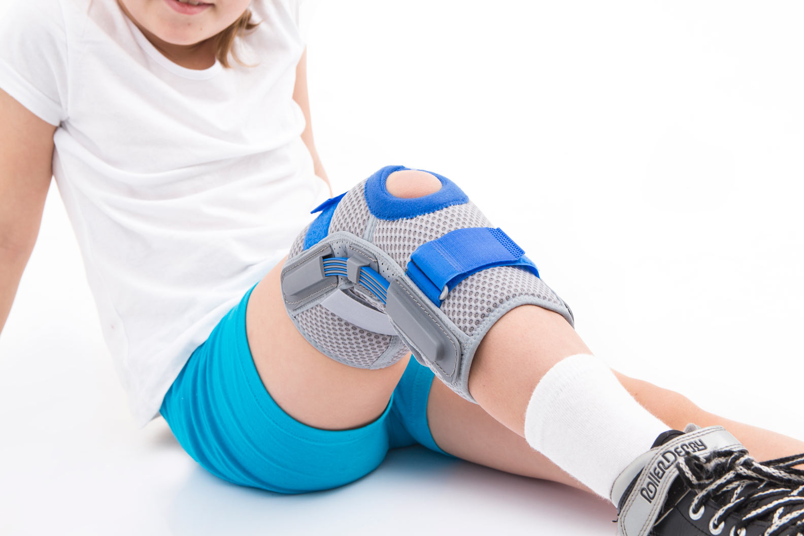 Ankle support and knee braces for kids.