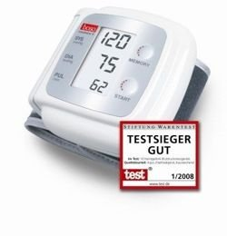 Boso Medistar S fully automatic blood pressure instrument for wrist measurement
