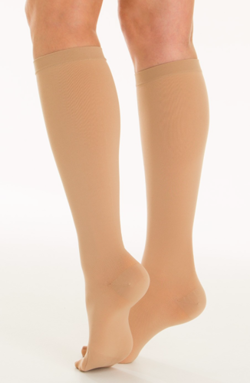 Medical compression knee high socks CCL1 with closed toe Relaxsan medicale classic