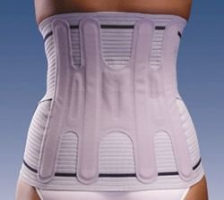 Orliman Evotec semirigid back support, high version