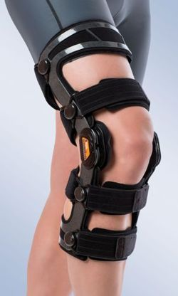 Orliman knee orthosis with flexion-extension control