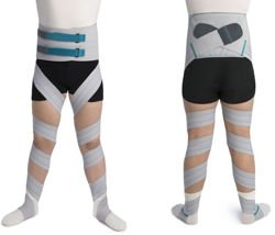 Orliman tibio femoral derotation straps - hips and legs brace
