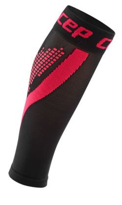 Reflective compression calf sleeves for women Nighttech CEP
