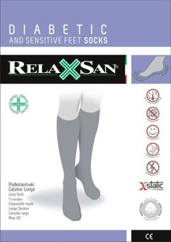 Relaxsan diabetic knee socks with X-static silver fiber