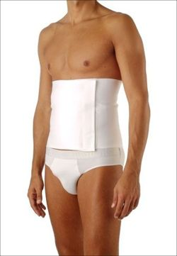 Relaxsan elastic cotton post-operation belt for Man with adjustable velcro fastener