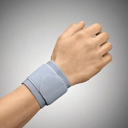Sporlastic elastic wrist support with additional strap