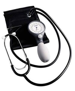 ri-san® + Riester sphygmomanometer with stethoscope